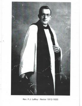 13 The Rev. F. J. LeRoy 1912-1920