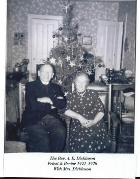 15 The Rev. A. E. Dickinson & Mrs. Dickinson 1921-1926