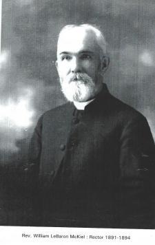 6 Rev. Wm. LeBaron McKiel 1891-1894